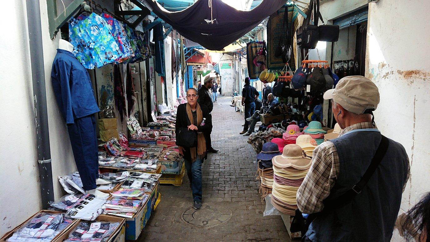 チュニジア:チュニスのメディナ自由時間に散策3