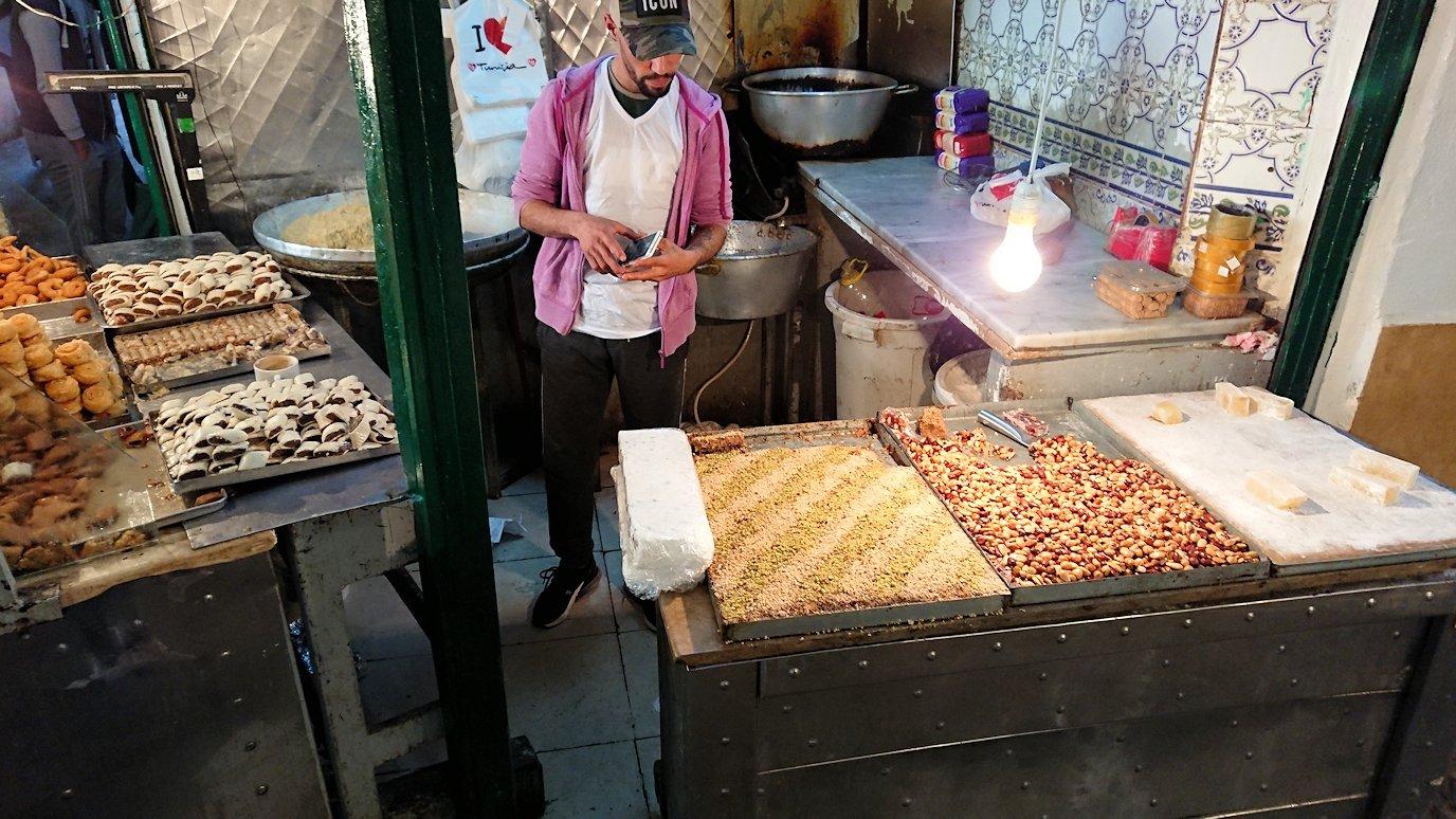 チュニジア:チュニスのメディナ自由時間に散策した景色