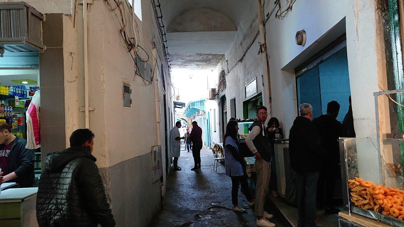 チュニジア:チュニスのメディナ自由時間に散策した景色1