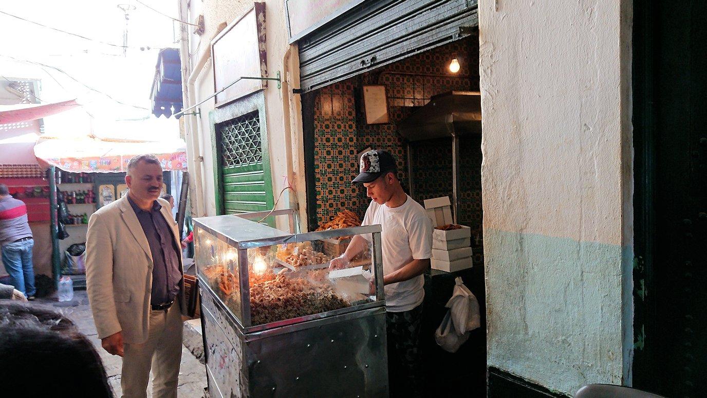 チュニジア:チュニスのメディナ自由時間に散策した景色2