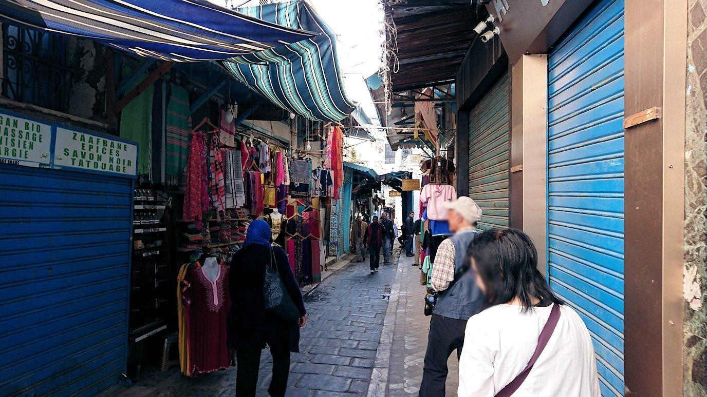 チュニジア:チュニスのメディナ自由時間に散策した景色7