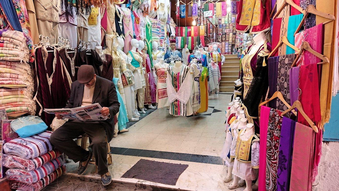 チュニジア:チュニスのメディナ自由時間に散策した景色8