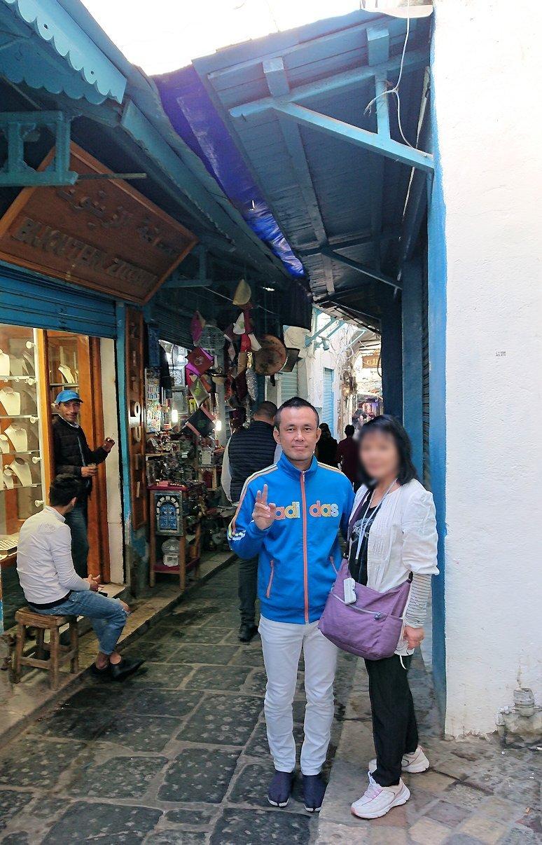 チュニジア:チュニスのメディナ自由時間に散策した景色9
