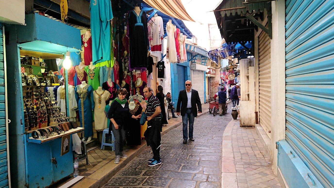 チュニジア:チュニスのメディナを歩き回る3