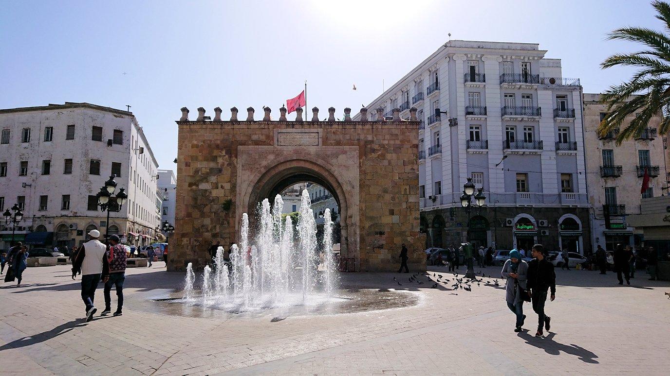 チュニジア:チュニスのメディナを歩き回る4