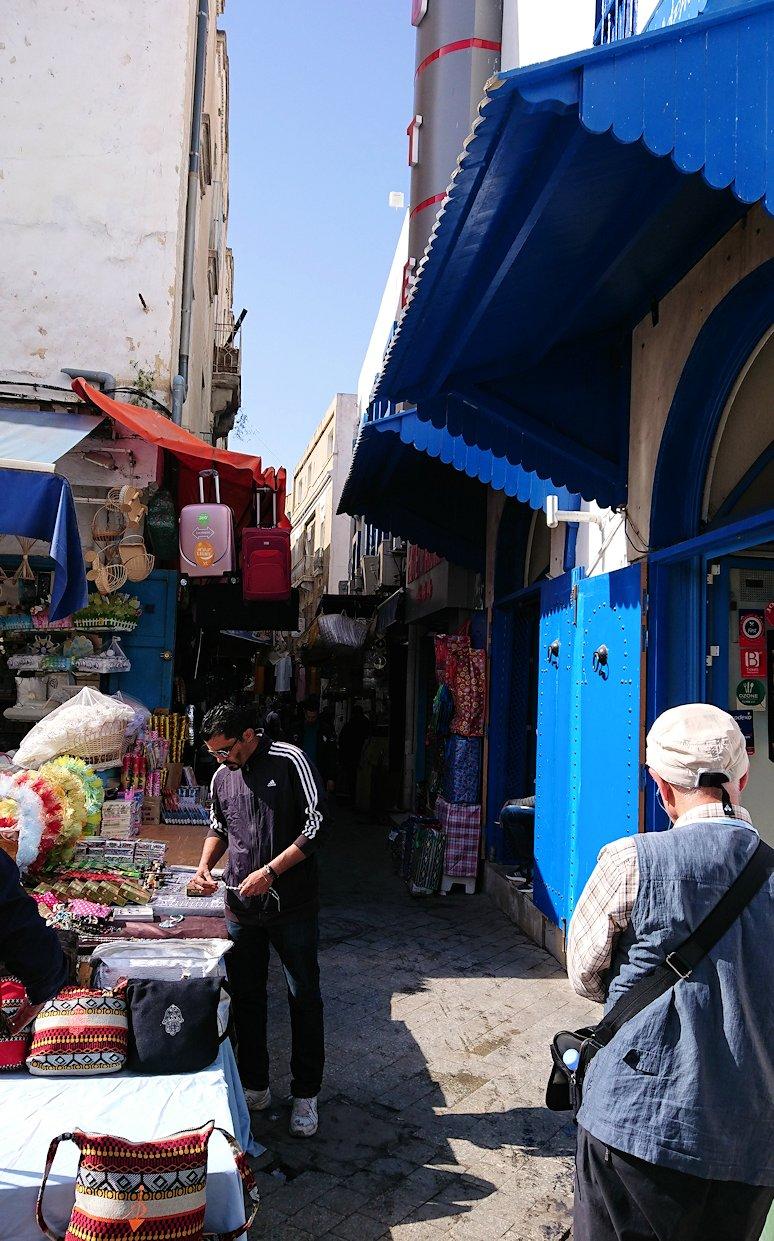 チュニジア:チュニスのメディナを歩き回る5