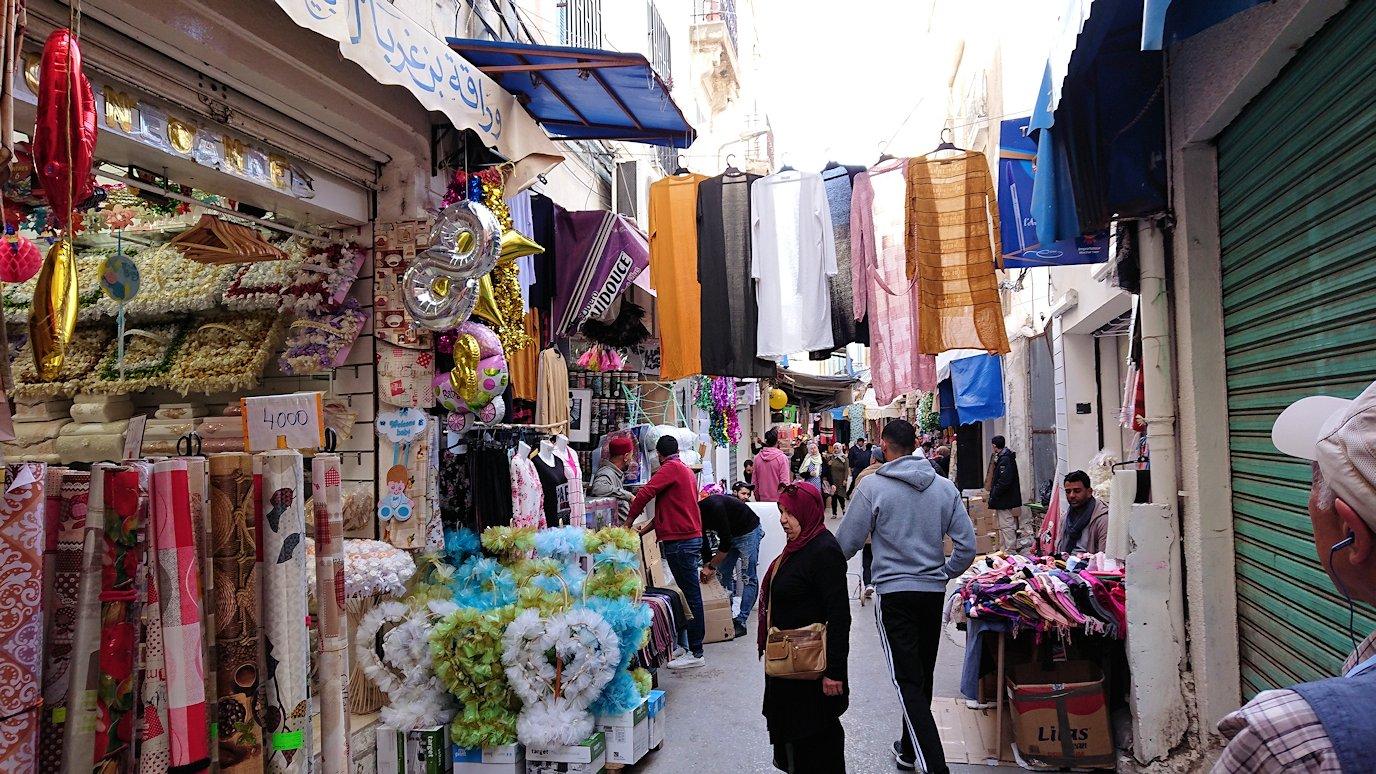 チュニジア:チュニスのメディナを歩き回る6