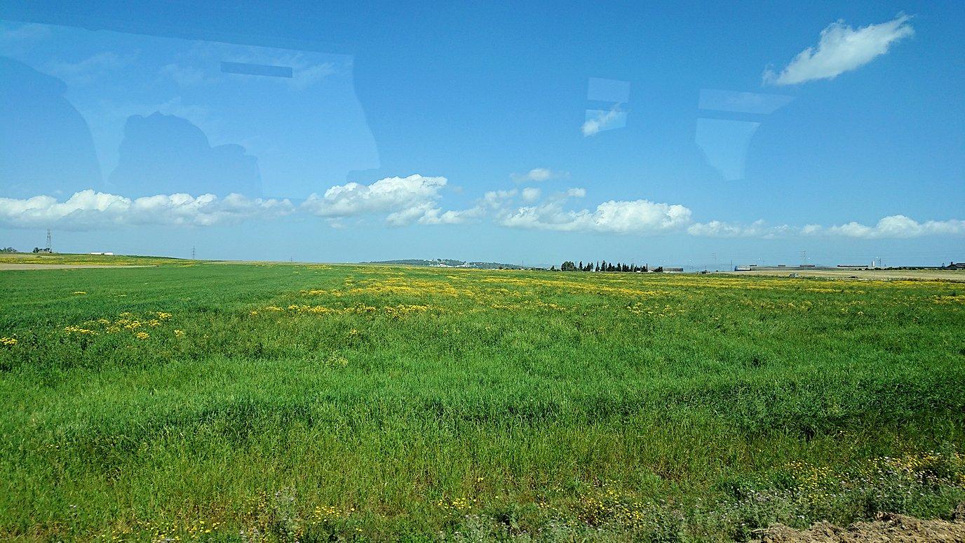 チュニジア:チュニスからイシュケウル国立公園の近くに来る