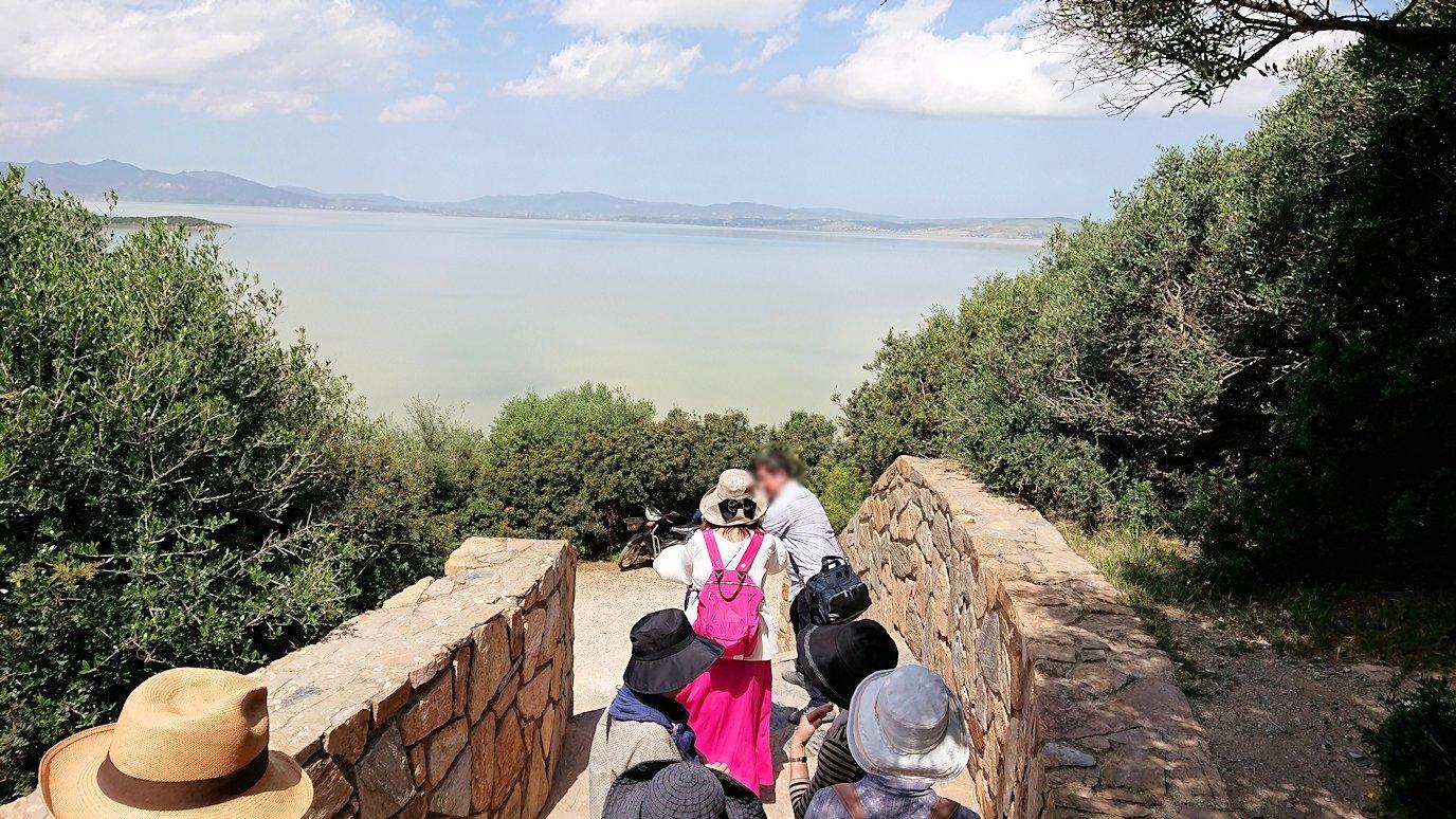 チュニジア:イシュケウル国立公園で記念撮影を1