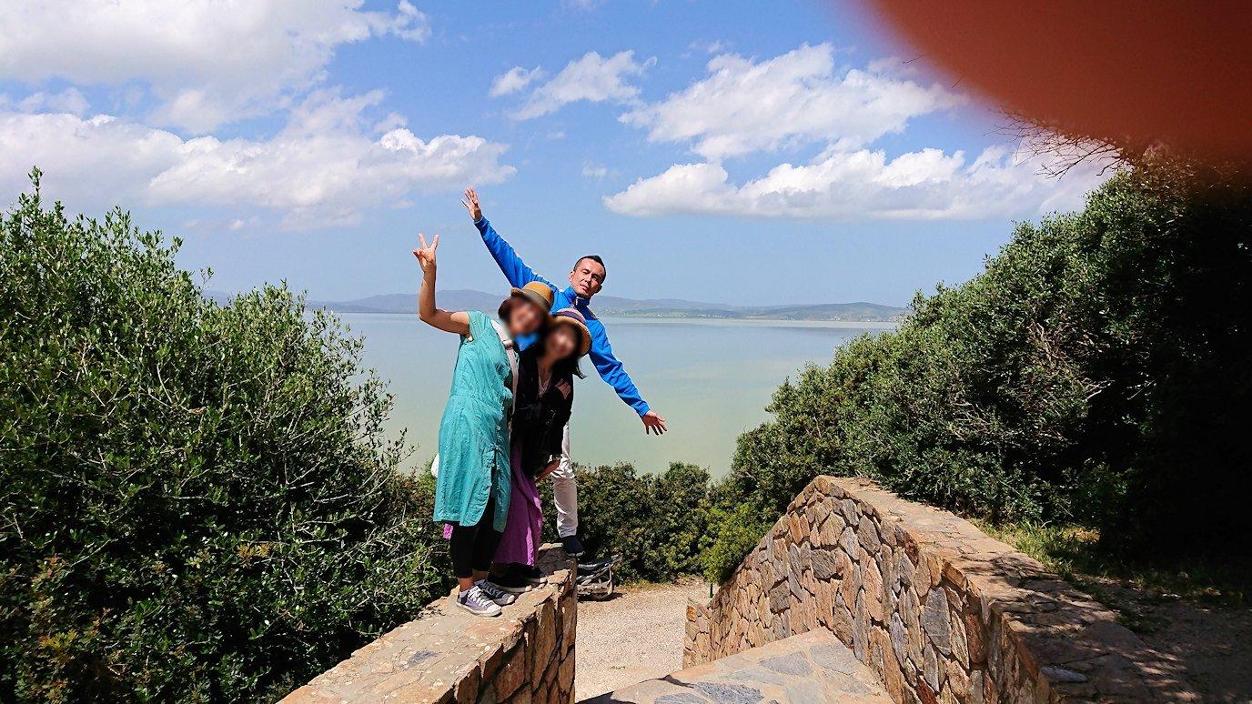 チュニジア:イシュケウル国立公園で記念撮影を4