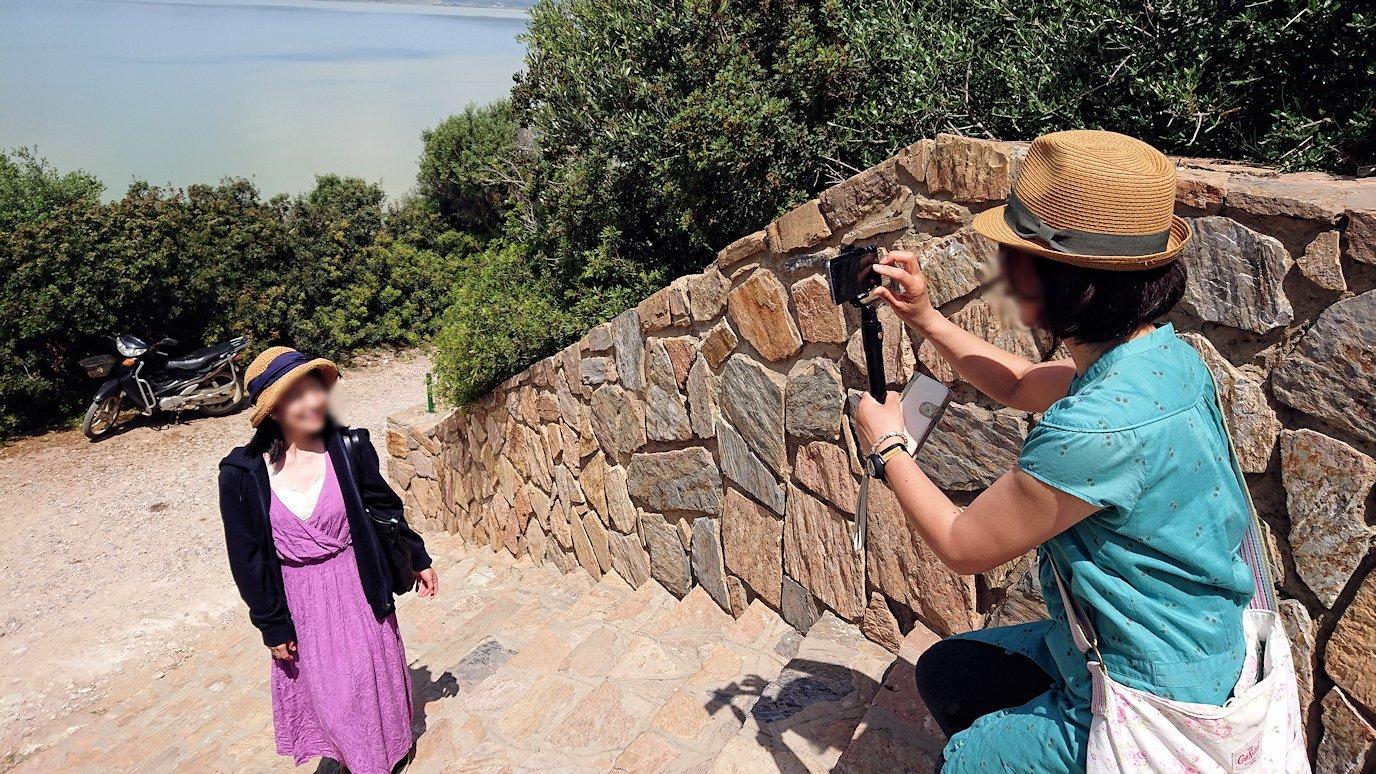 チュニジア:イシュケウル国立公園で記念撮影を5