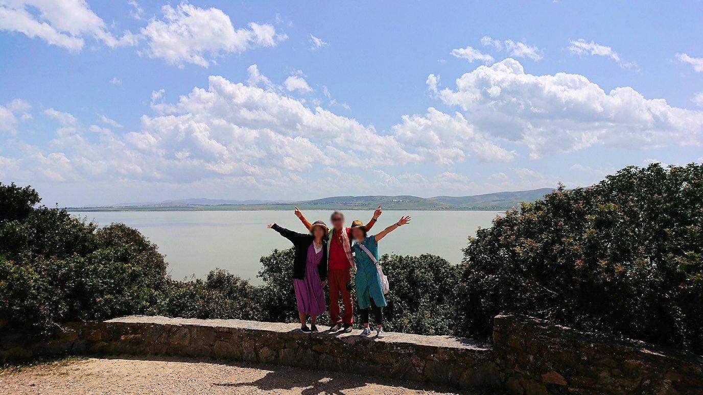 チュニジア:イシュケウル国立公園で記念撮影を6