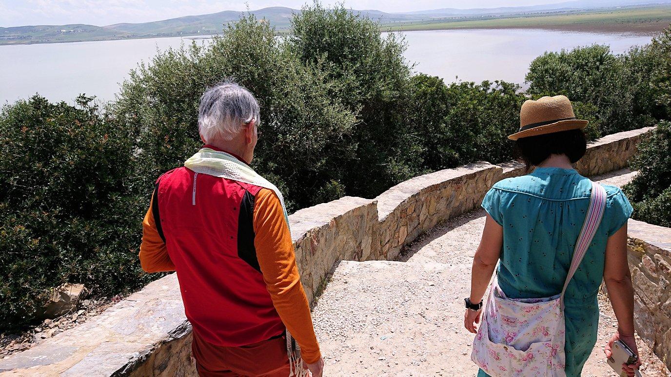 チュニジア:イシュケウル国立公園で記念撮影を8
