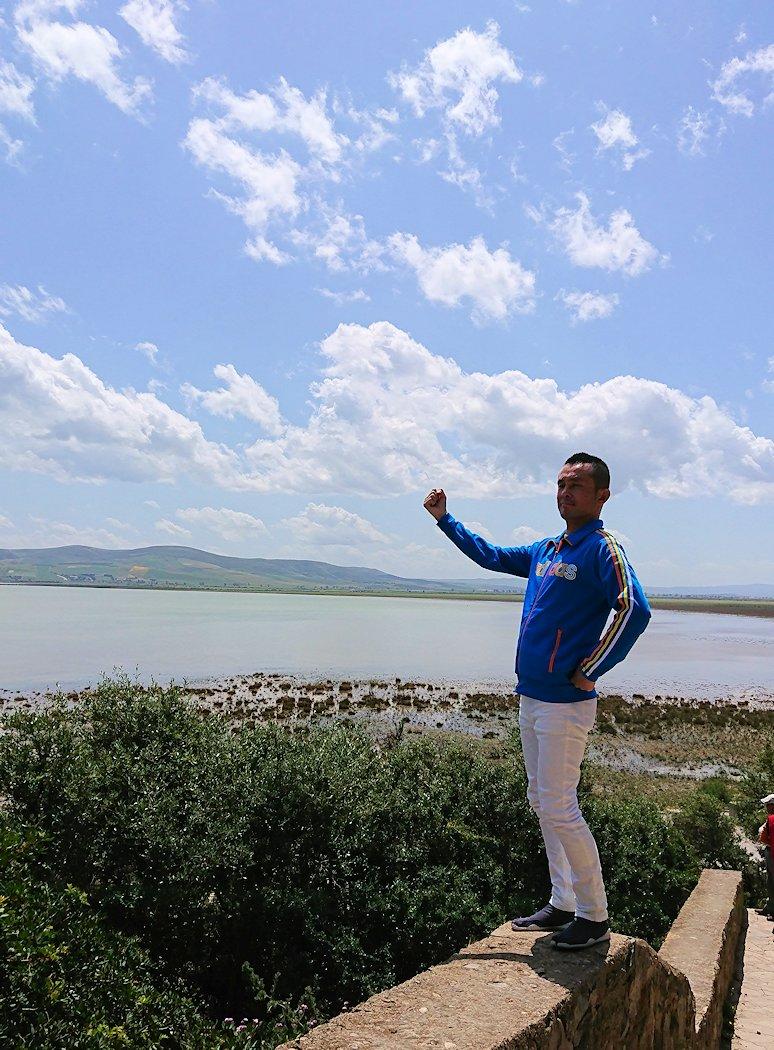 チュニジア:イシュケウル国立公園で記念撮影を楽しむ4