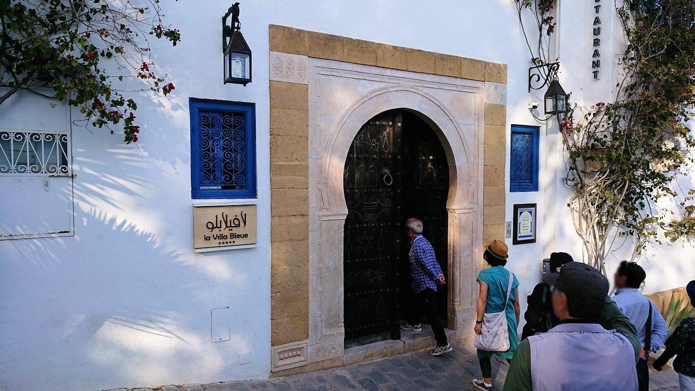 チュニジア:シディ・ブ・サイドの街の次なる絶景ポイントにて7