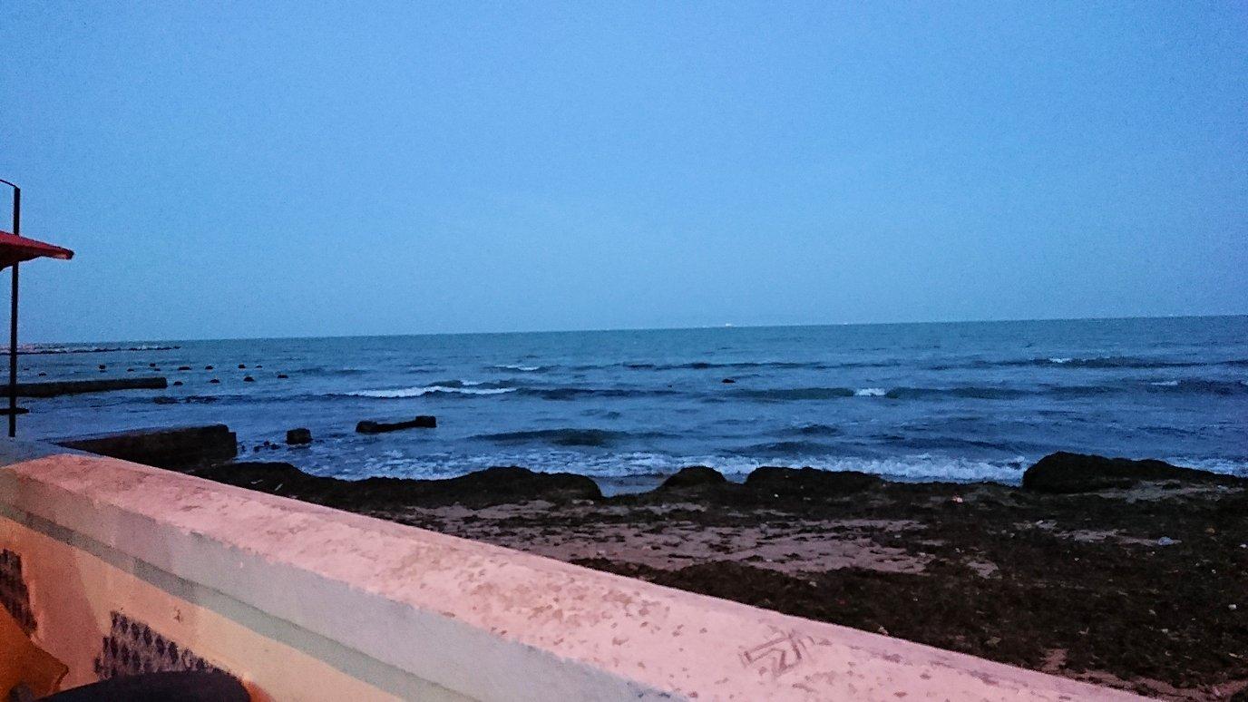 チュニジア:ラ・グレットにあるレストラン付近の景色1