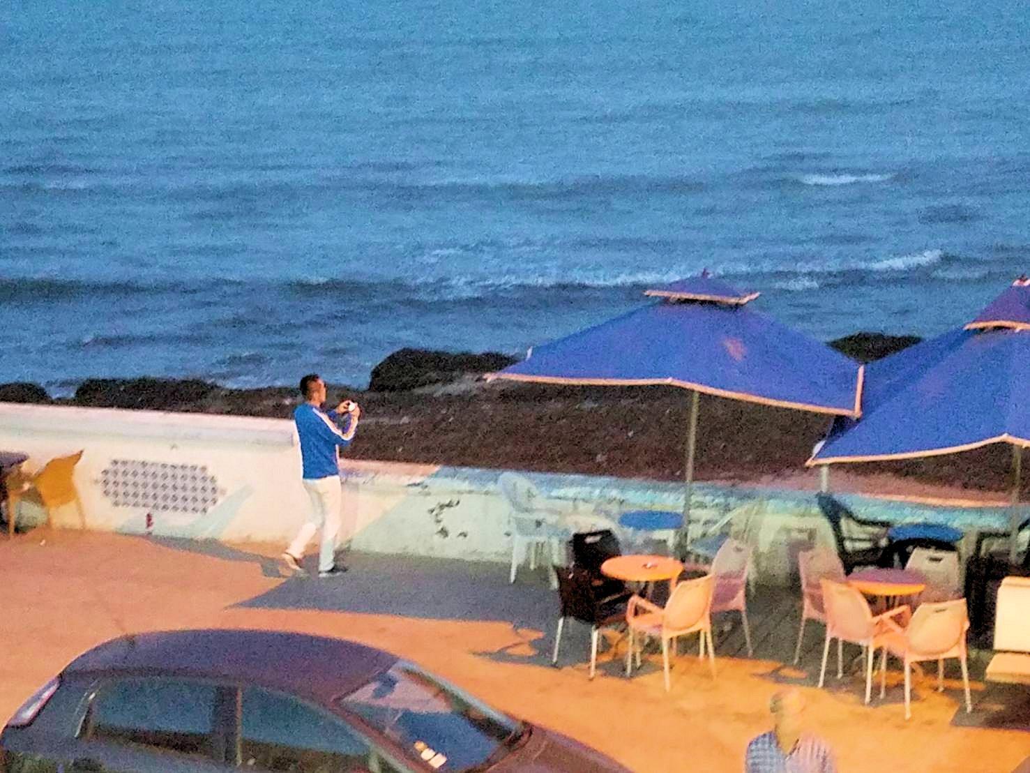 チュニジア:ラ・グレットにあるレストラン付近の景色5