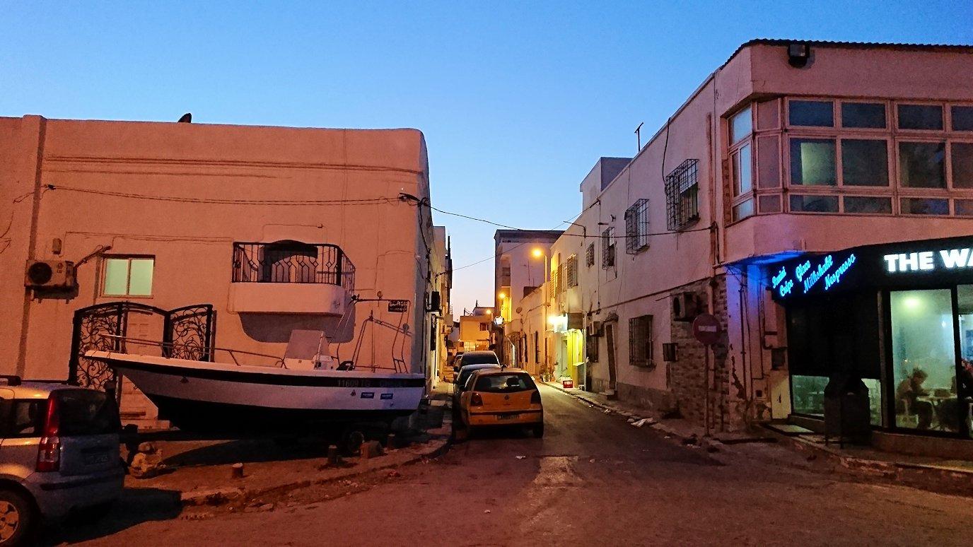 チュニジア:ラ・グレットにあるレストラン付近の景色6