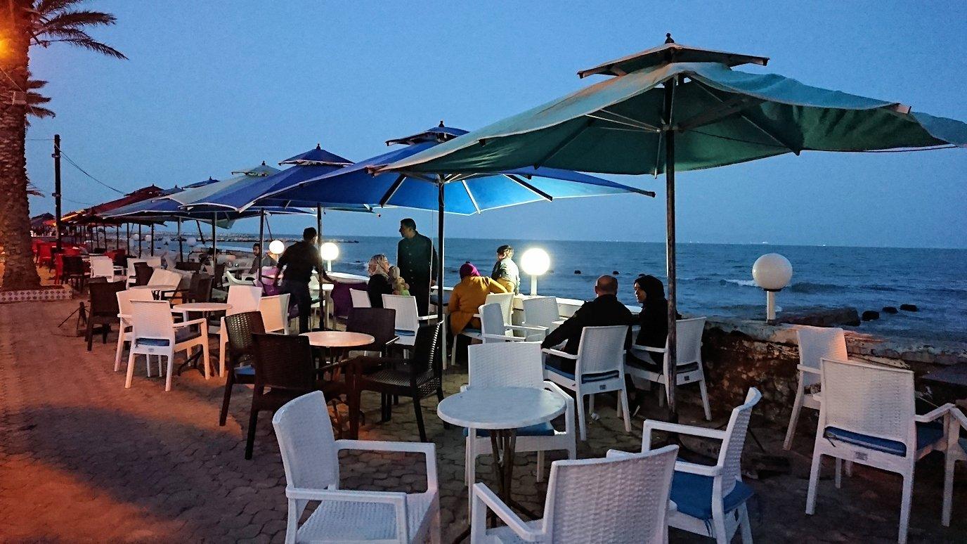 チュニジア:ラ・グレットにあるレストラン付近の景色7