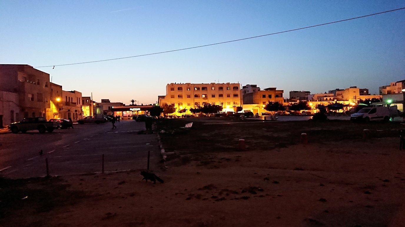 チュニジア:ラ・グレットにあるレストラン付近の景色8