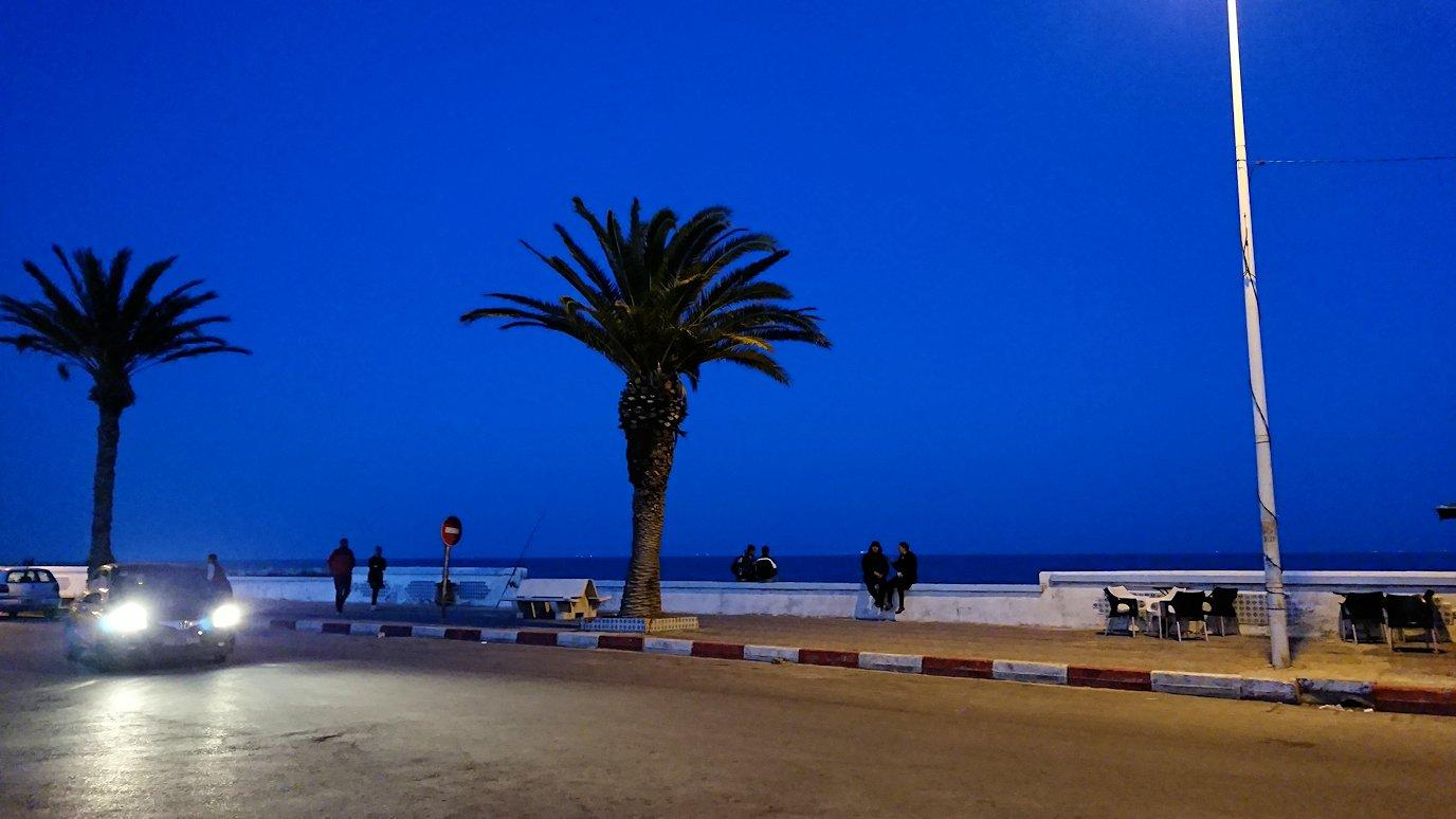 チュニジア:ラ・グレットにあるレストラン付近の景色9