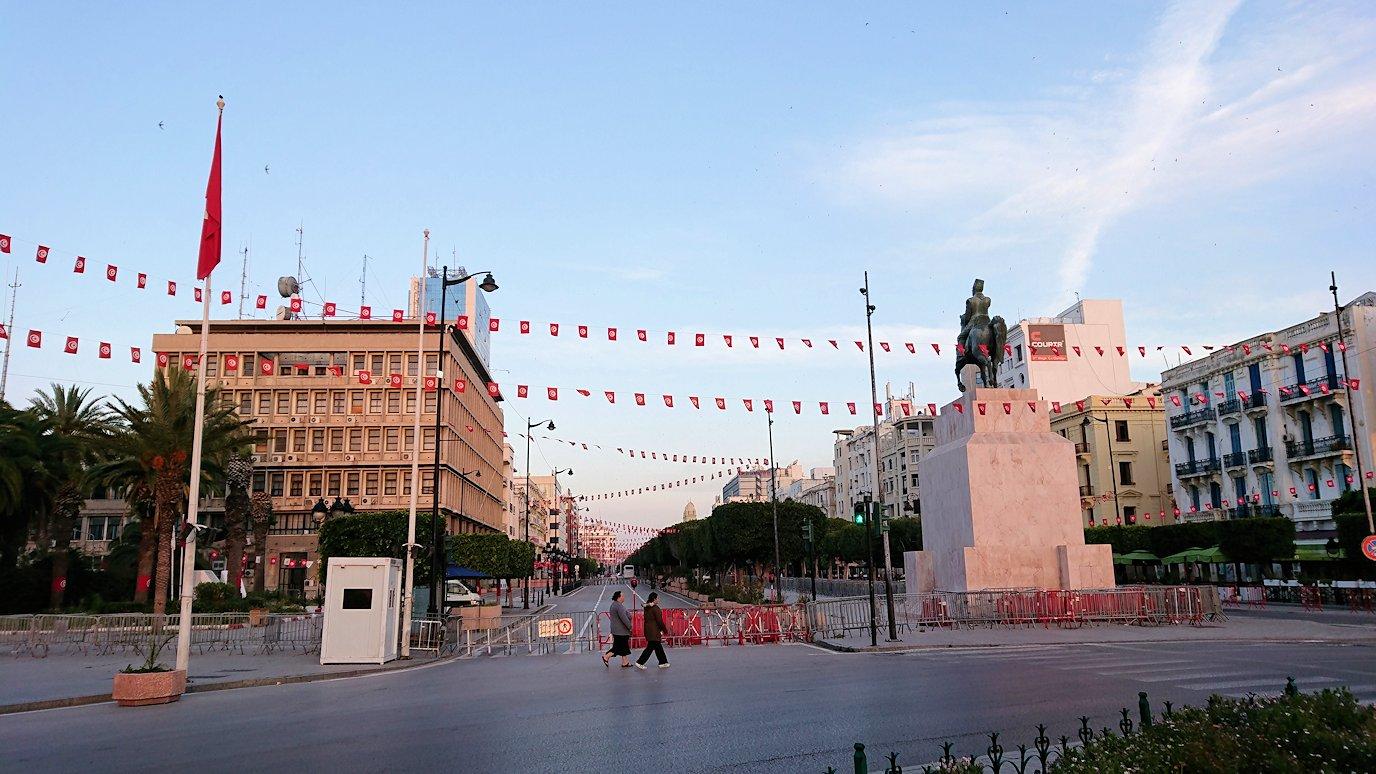 チュニジア:チュニスの朝を散歩6