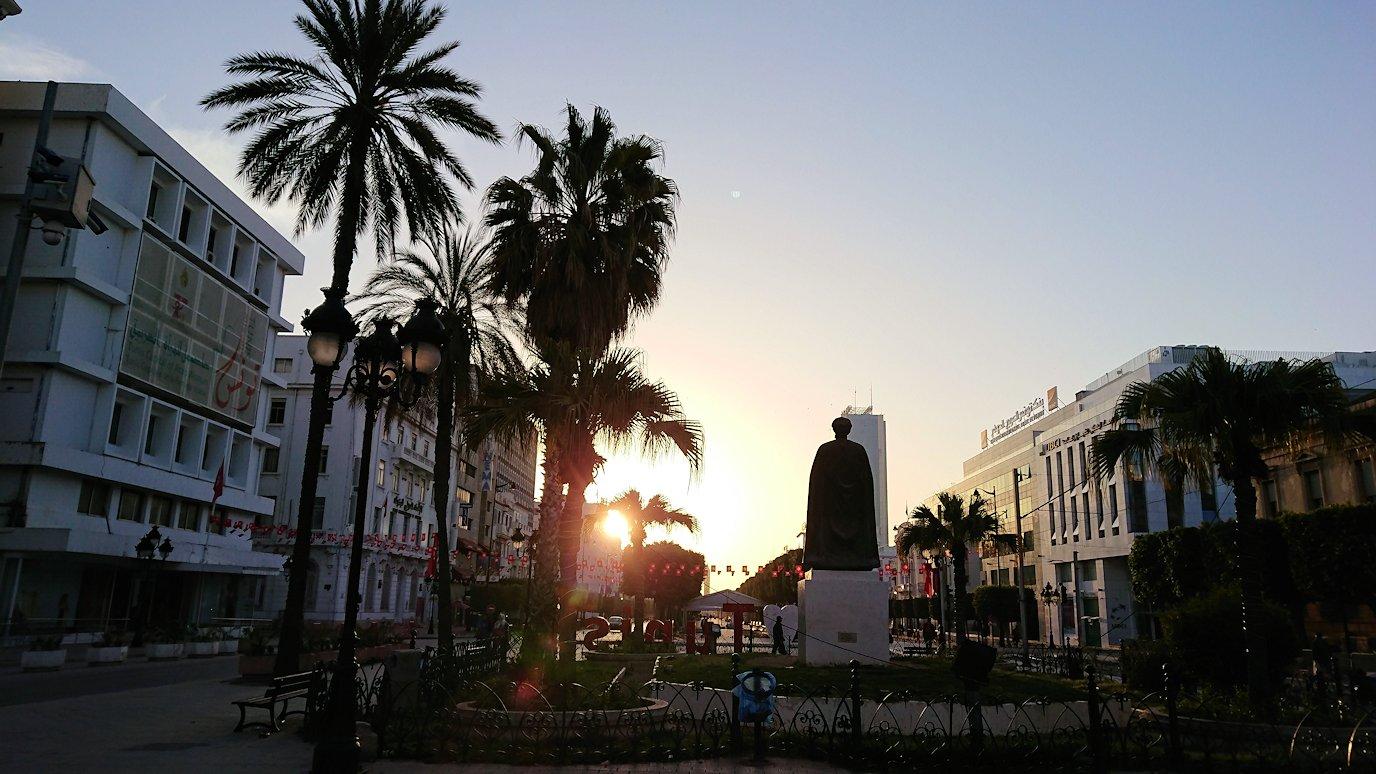 チュニジア:チュニスの朝を気持ちよく散策する8
