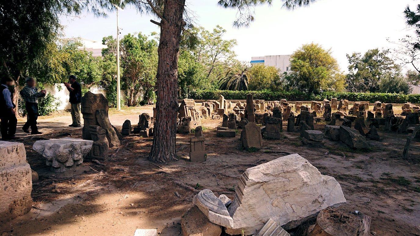 チュニジア:カルタゴ遺跡のトフェ(タニト神の聖域)に向かう4