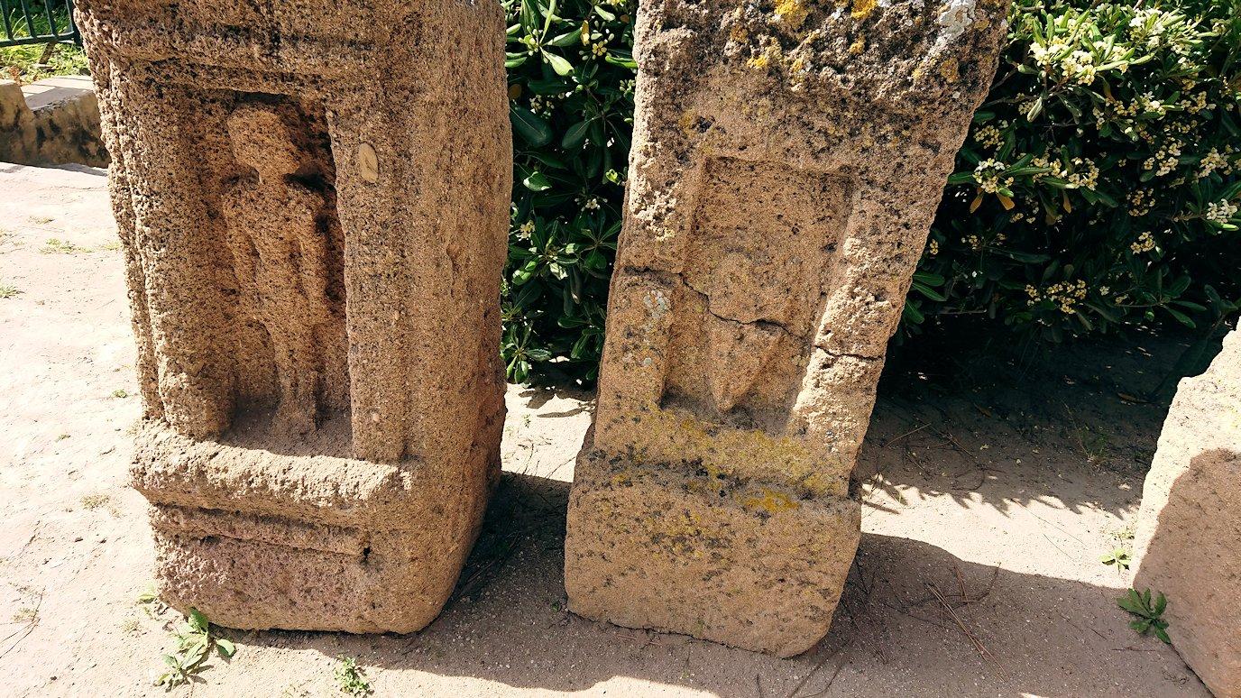 チュニジア:カルタゴ遺跡のトフェ(タニト神の聖域)を見学1