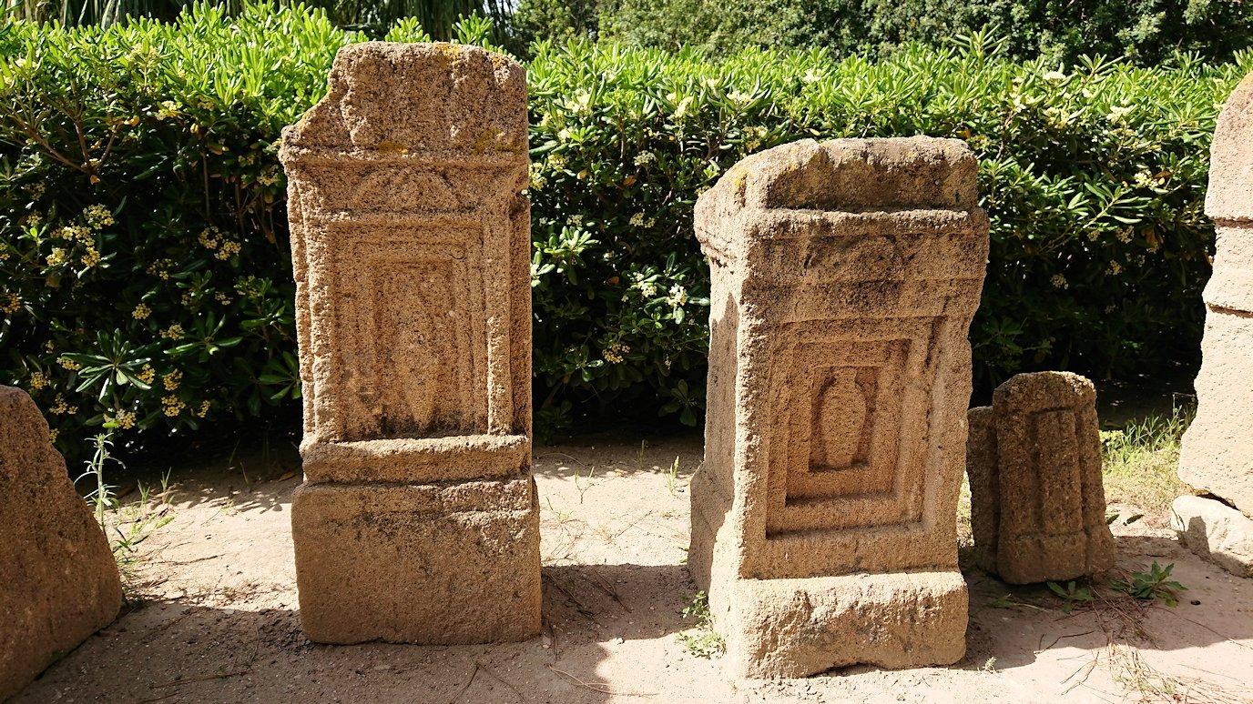 チュニジア:カルタゴ遺跡のトフェ(タニト神の聖域)を見学4