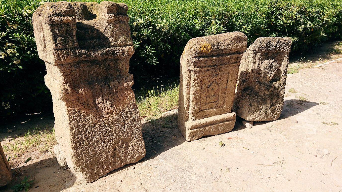チュニジア:カルタゴ遺跡のトフェ(タニト神の聖域)を見学5