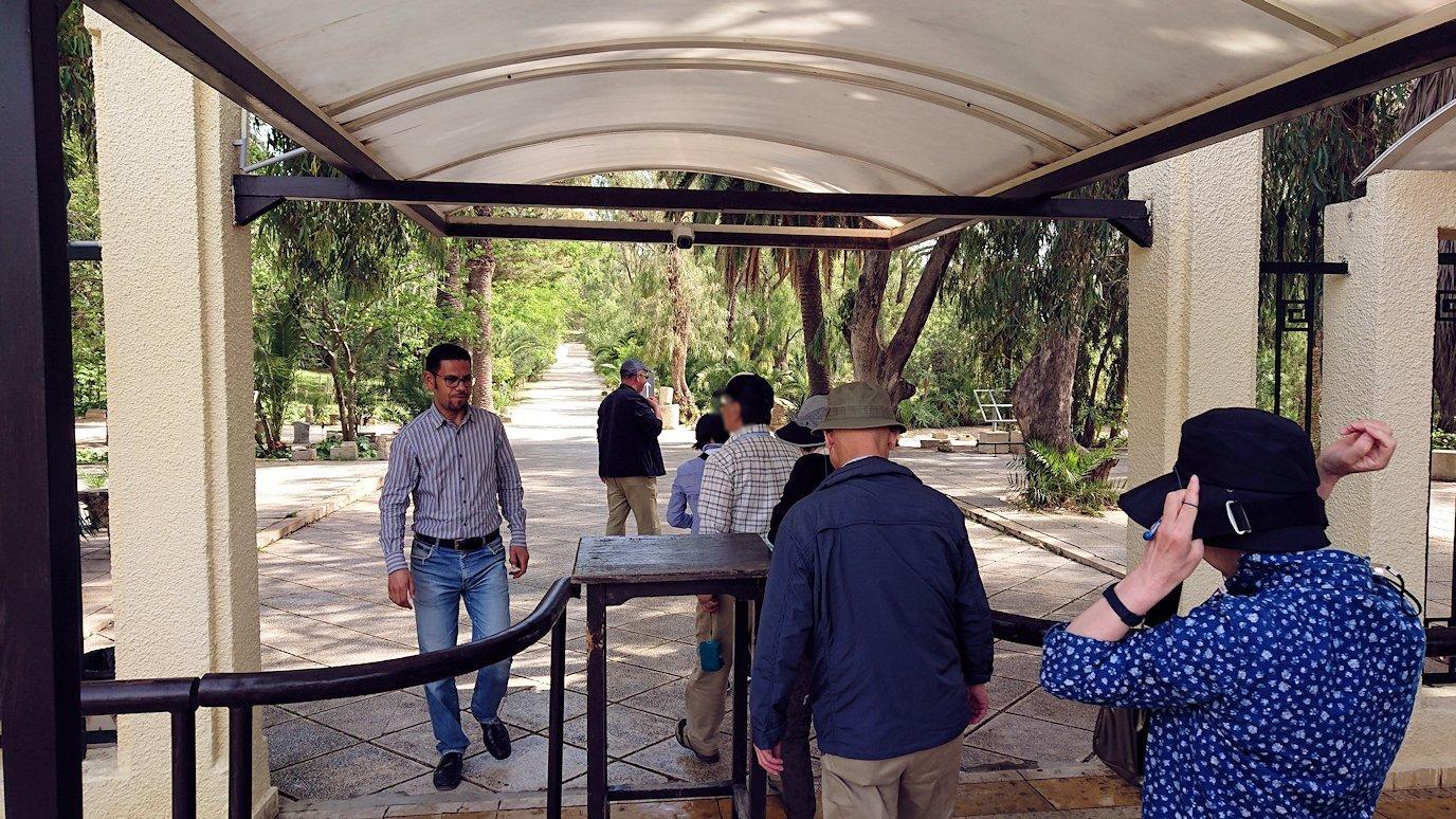 チュニジア:カルタゴ遺跡のアントニヌスの共同浴場へ向かう5