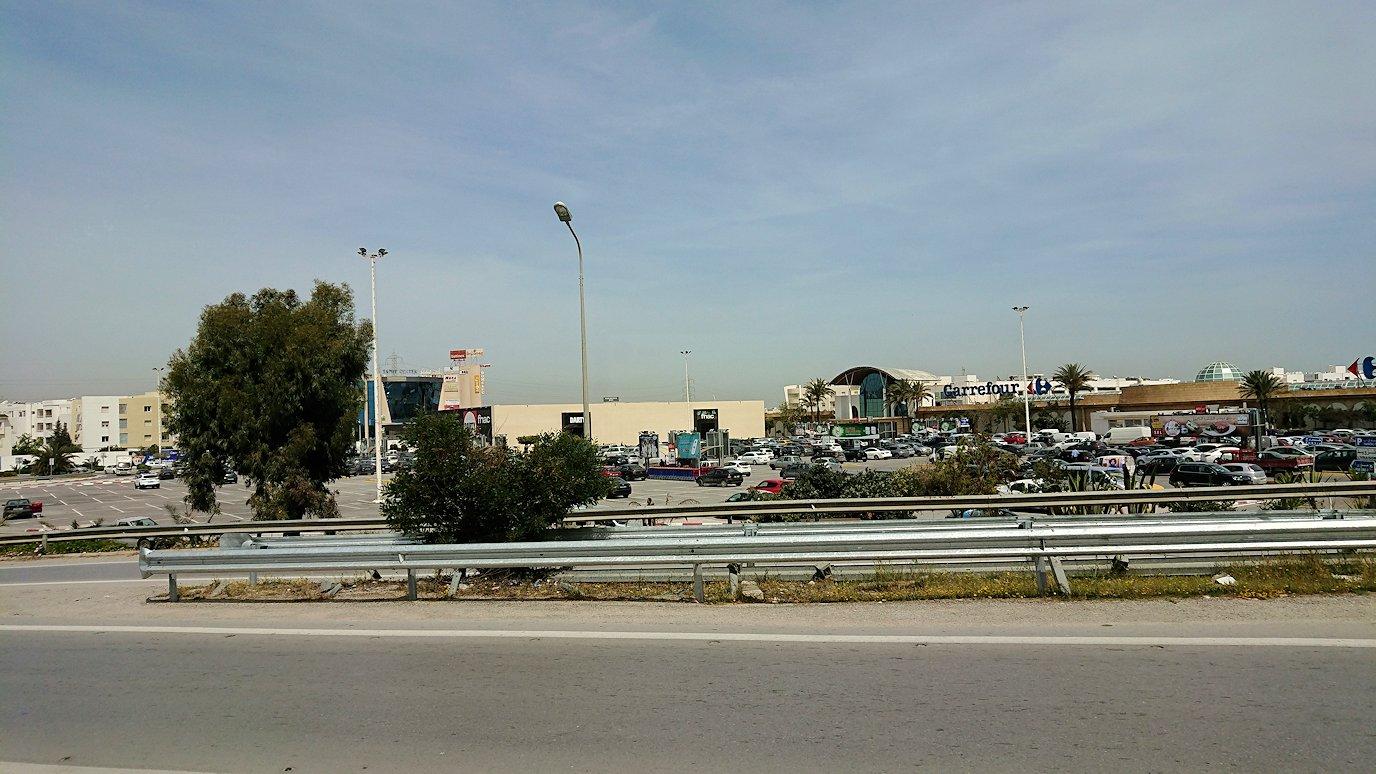 チュニジア:カルタゴ遺跡のアントニヌスの共同浴場内を終了し空港へ向かう3