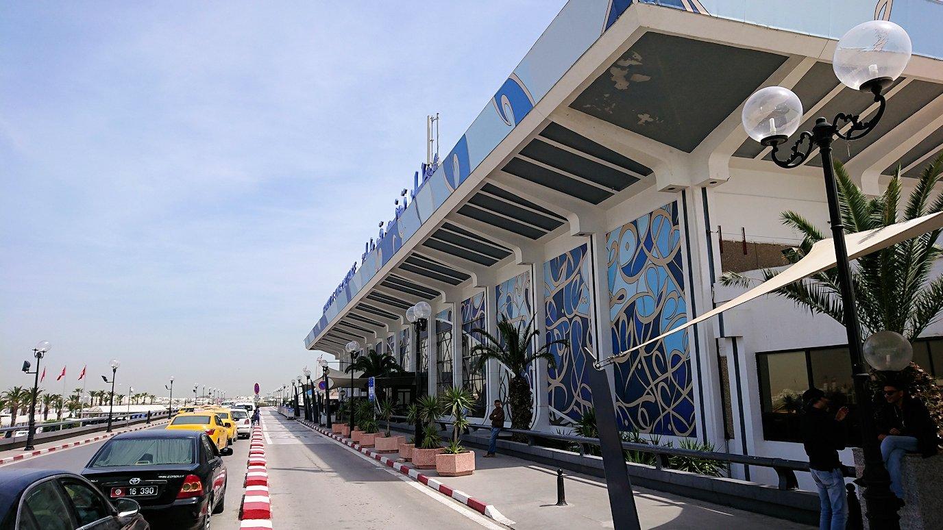 チュニジア:カルタゴ遺跡のアントニヌスの共同浴場内を終了し空港へ向かう6