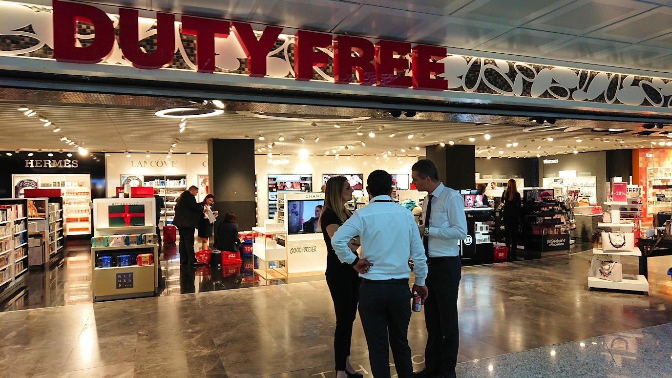 チュニジア:チュニス空港で出国審査を受ける8