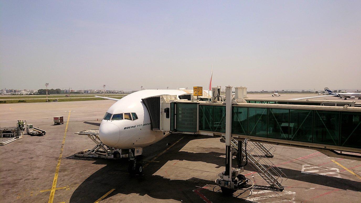 チュニジア:チュニス空港で出国の時間が迫る