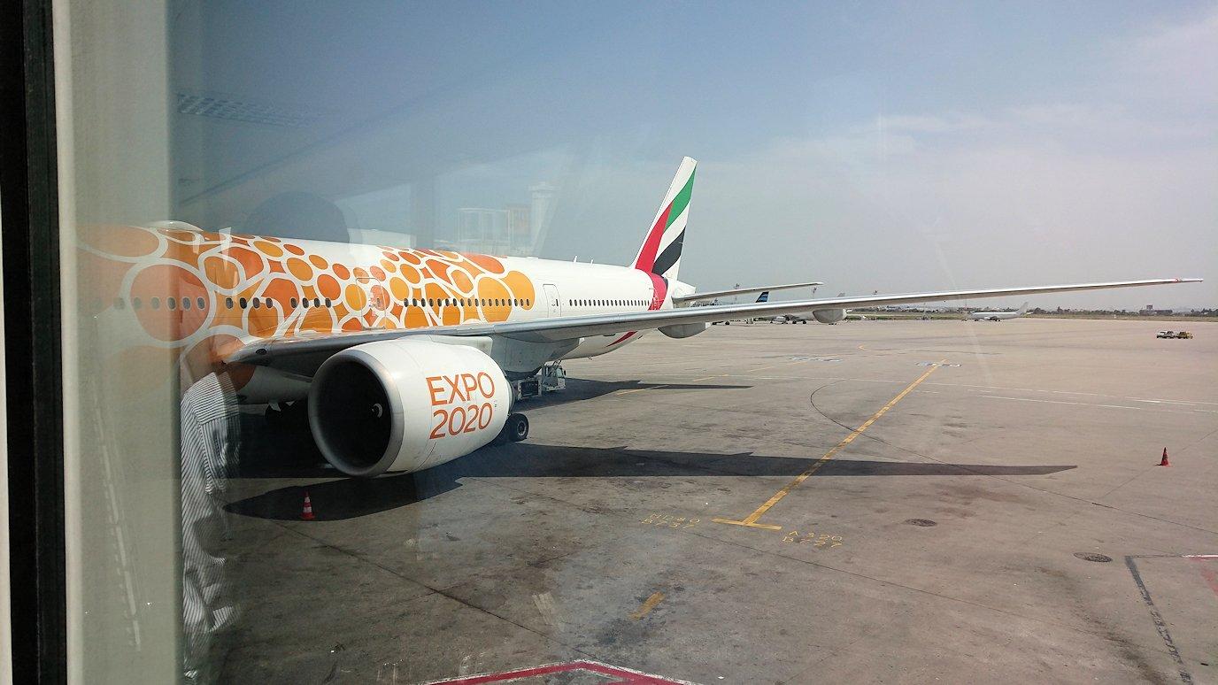 チュニジア:チュニス空港で出国の時間が迫る9