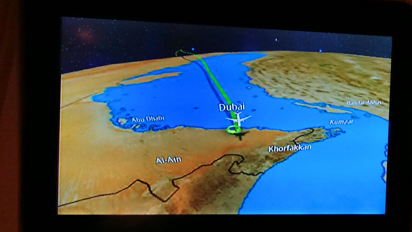 チュニジア:チュニス空港でドバイで乗換2