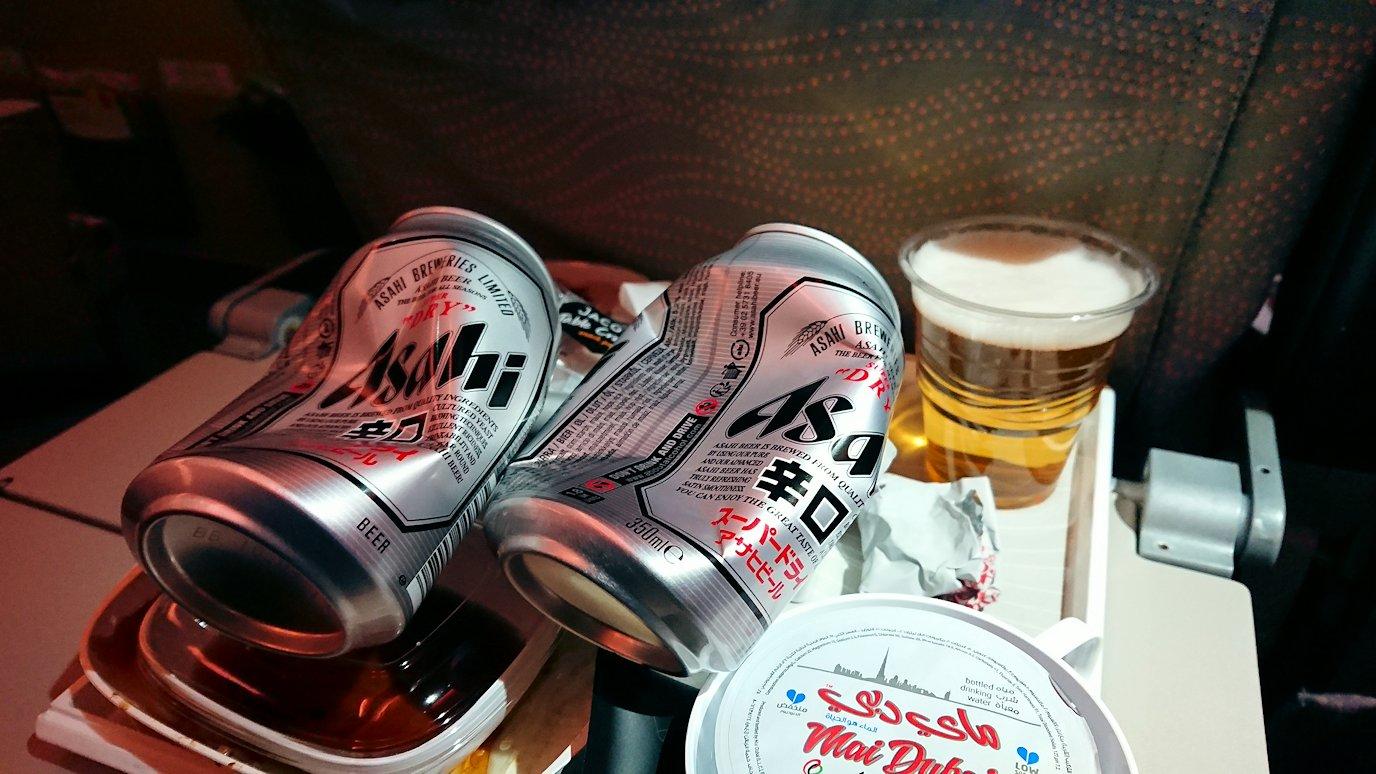 チュニジア:チュニス空港でドバイで関空行の飛行機にて関空へ向かう9