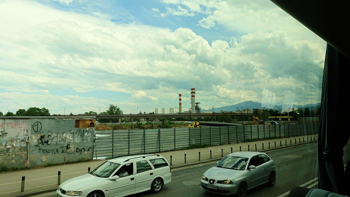 北マケドニアのスコピエ空港から市内へ移動5
