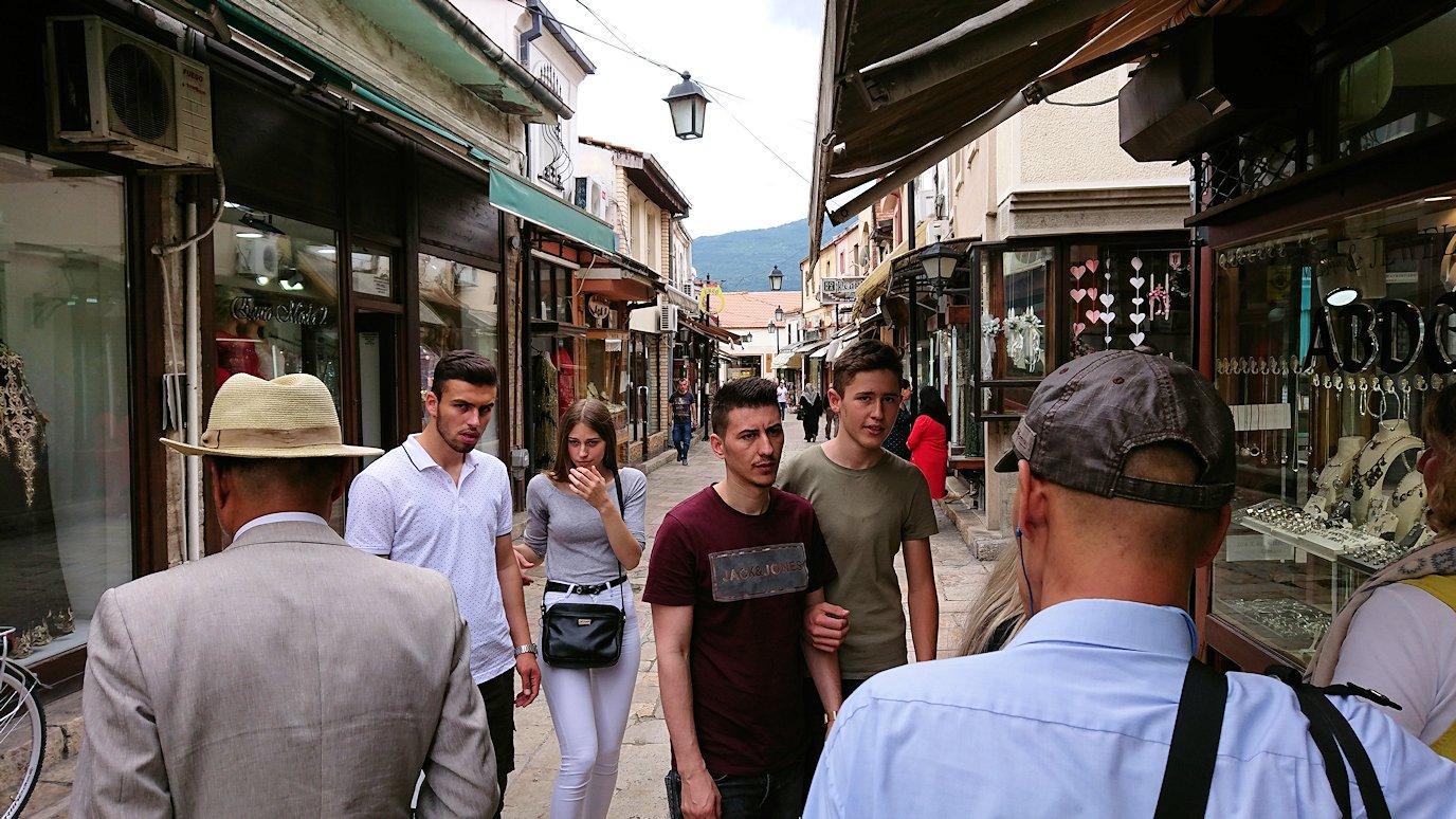 北マケドニアのスコピエ市内でオールドバザールを散策4