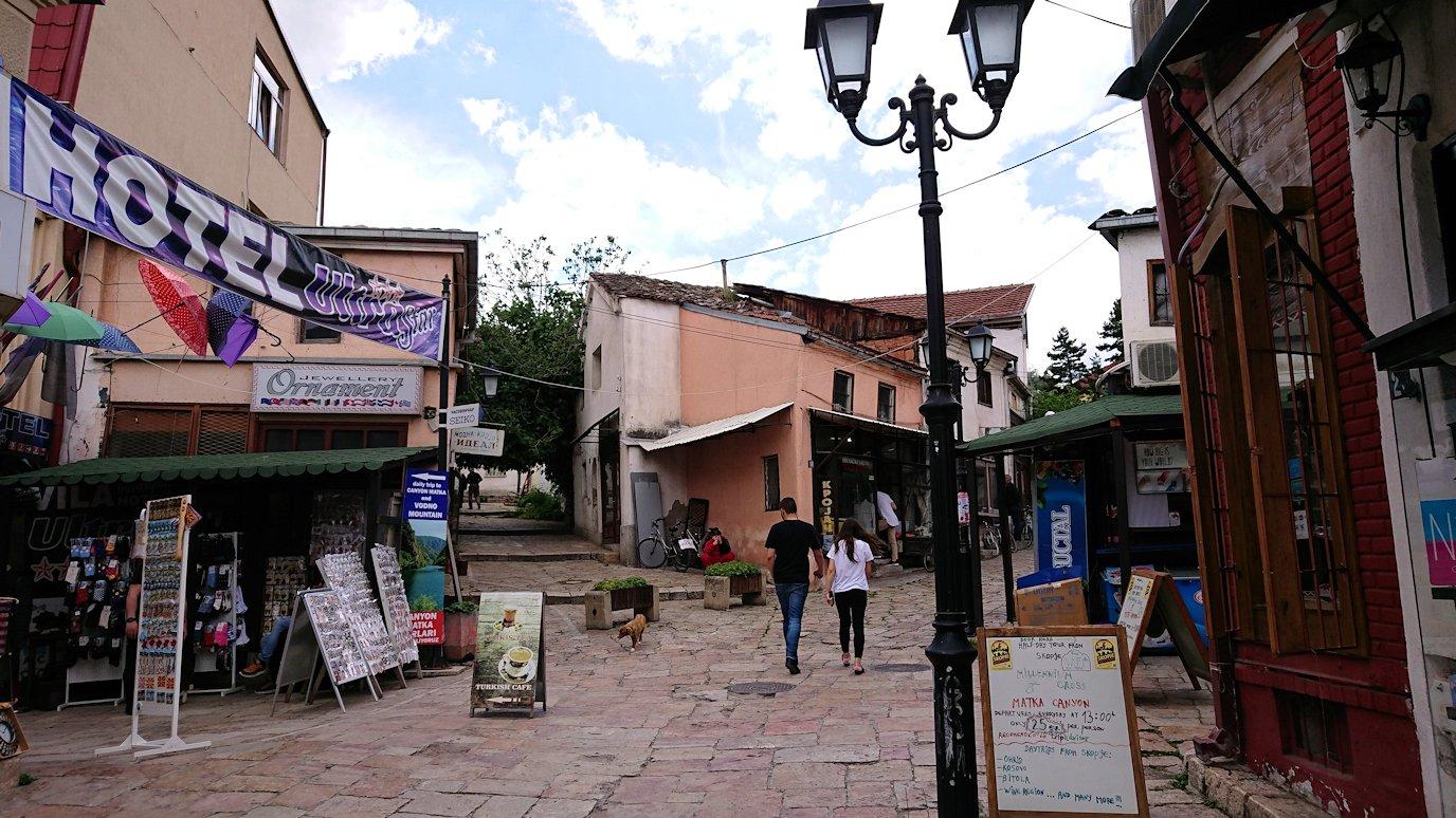 北マケドニアのスコピエ市内でオールドバザールを散策5