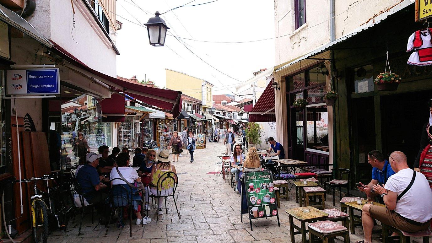 北マケドニアのスコピエ市内でオールドバザールを観光して行きます1