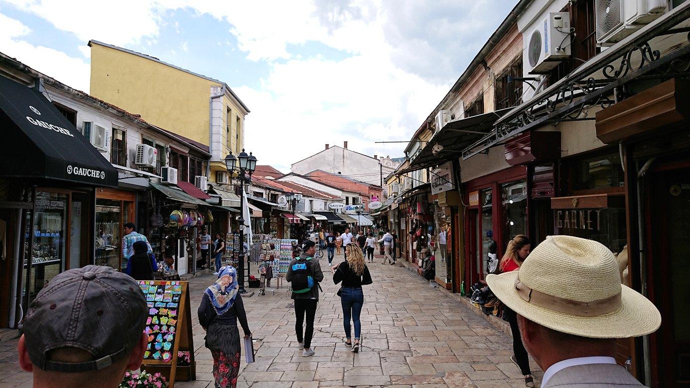 北マケドニアのスコピエ市内でオールドバザールを観光して行きます4