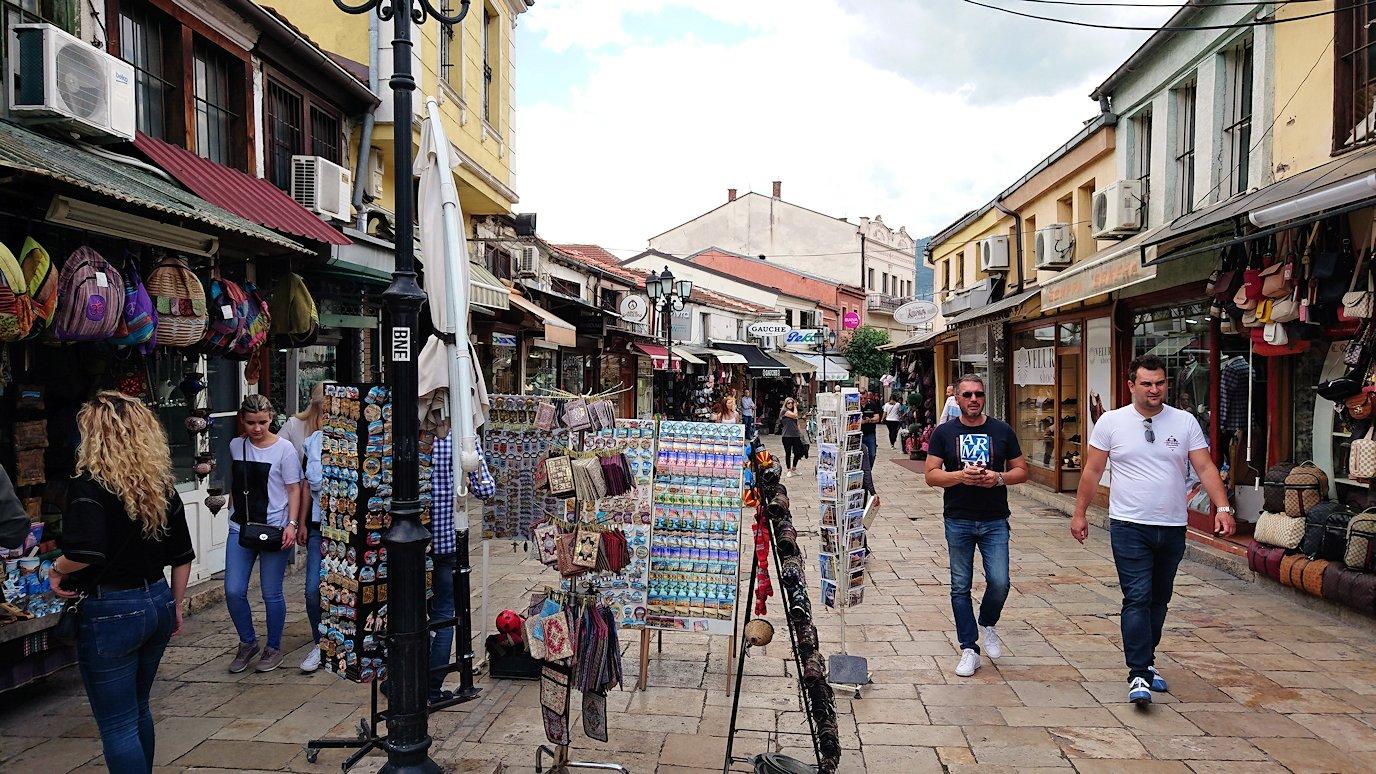 北マケドニアのスコピエ市内でオールドバザールを観光して行きます5