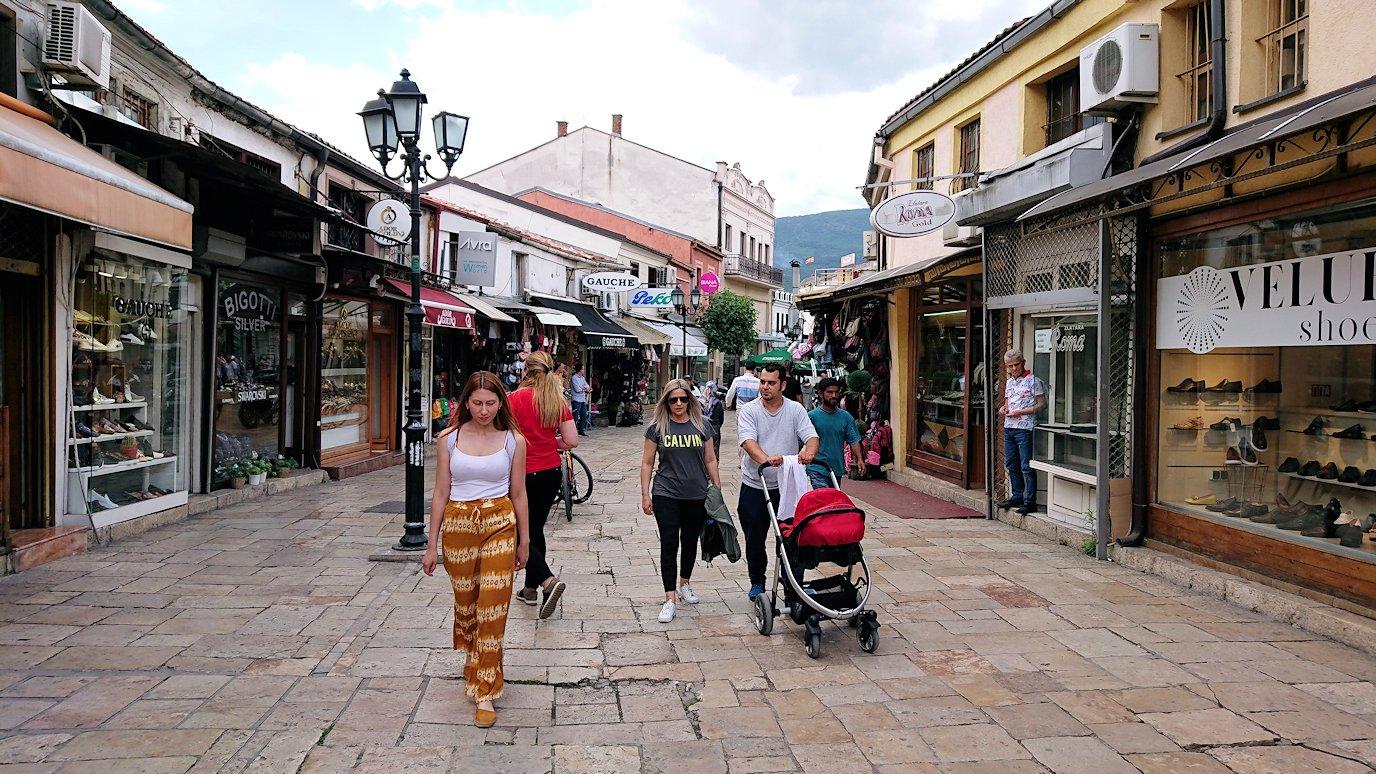 北マケドニアのスコピエ市内でオールドバザールを観光して行きます6