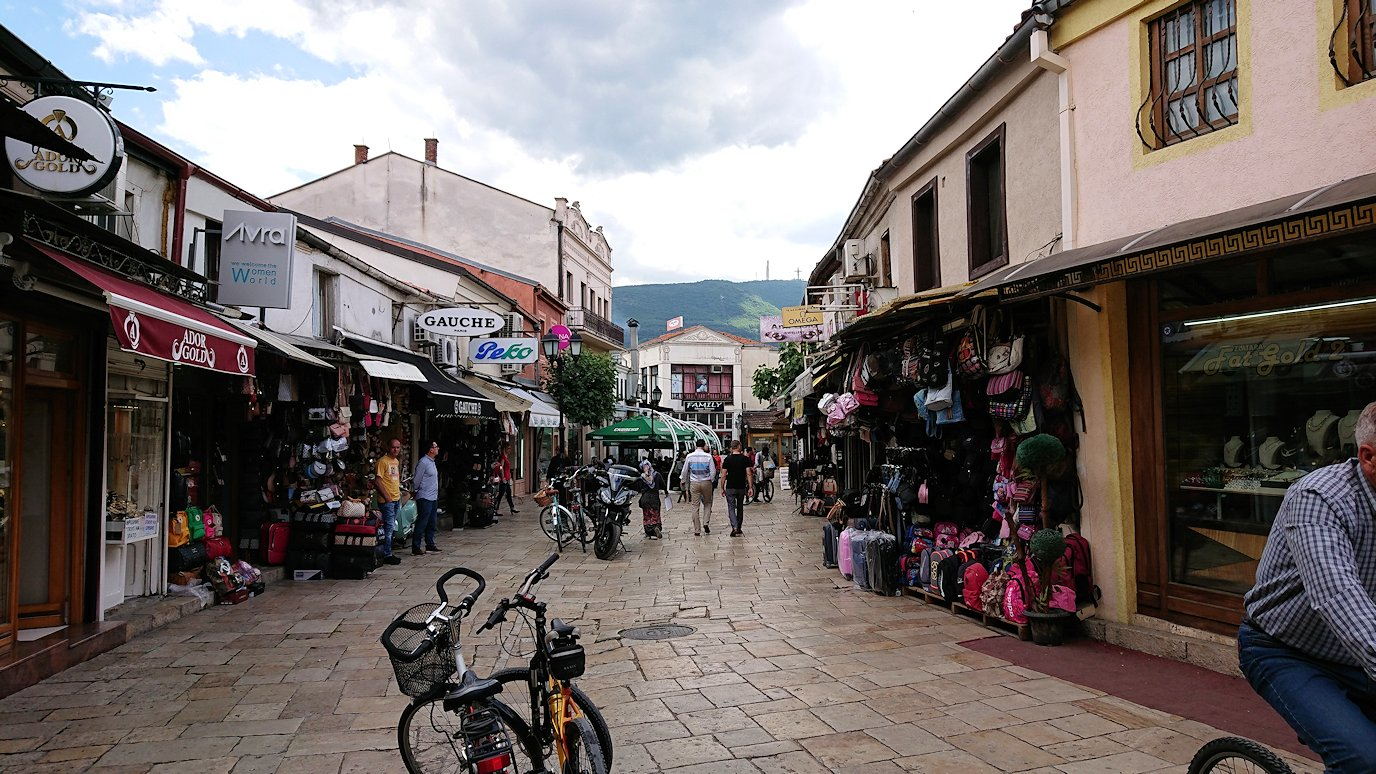 北マケドニアのスコピエ市内でオールドバザールを観光して行きます7