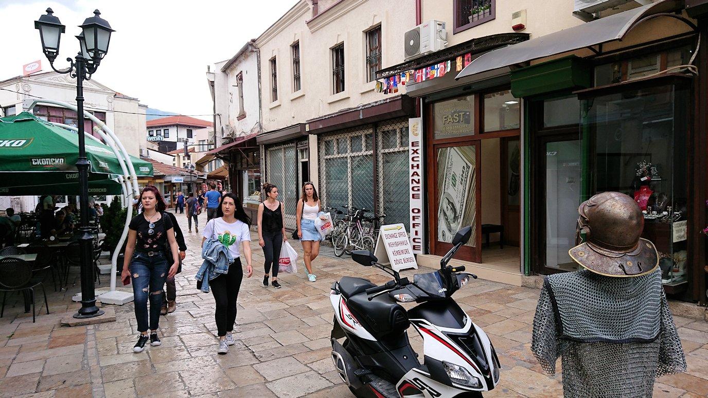 北マケドニアのスコピエ市内でオールドバザールを観光して行きます8