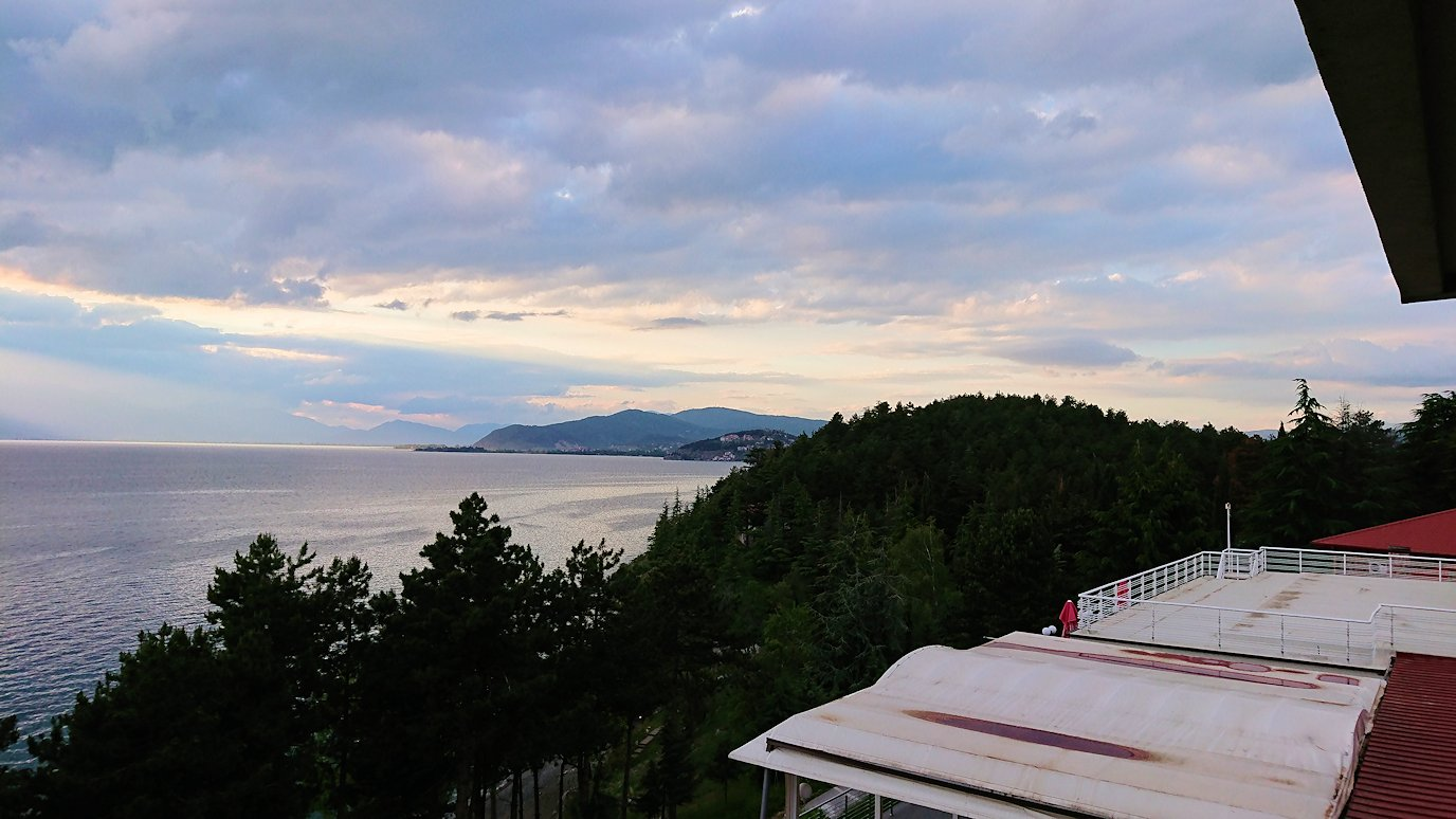北マケドニアのオフリドにあるHotel Inex Gorica(ゴリツァ・イネックス)にチェックイン6