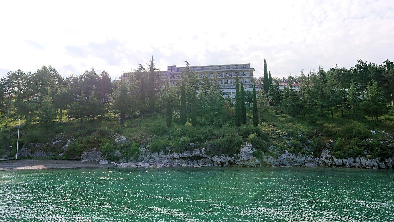 北マケドニアのオフリド湖でクルーズ!2